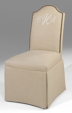 Superieur Monogrammed Chairs: Iu0027ll Take A Pair