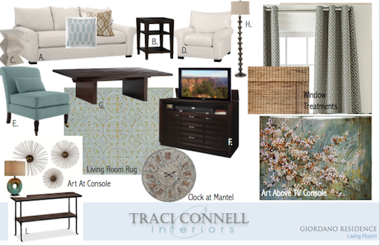Design Delivered An Online Interior Design Service Traci Connell