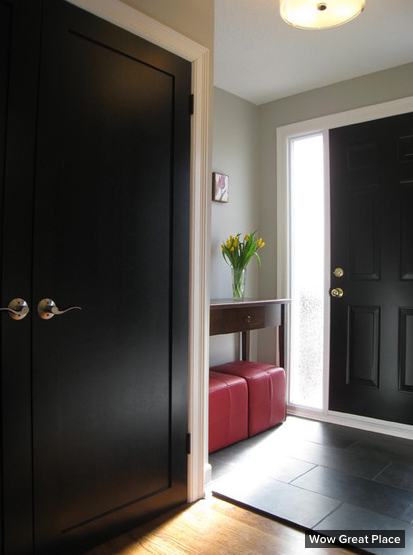 Painting Your Interior Doors Black Traci Connell Interiors